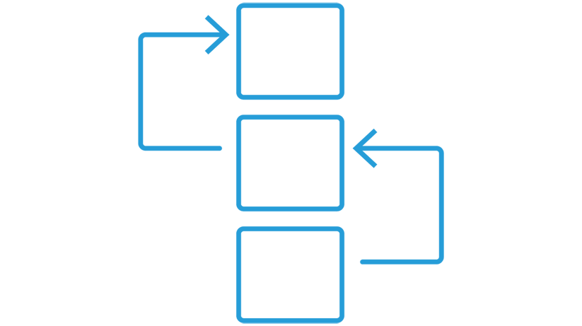 Task based workflow icon